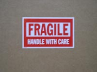 10 Fragile Labels